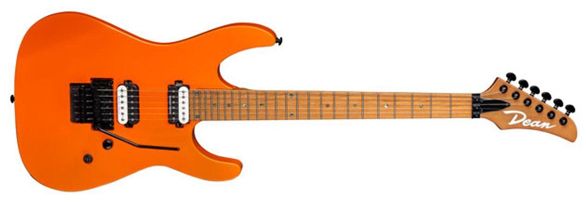 Dean Guitars Unveils the MD24 Floyd Roasted Maple Vintage