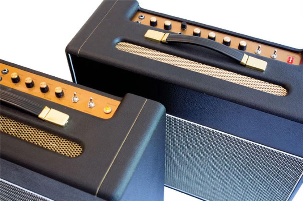 the mean 18 british style 18 watt amp kits from mojotone and tube depot premier guitar. Black Bedroom Furniture Sets. Home Design Ideas