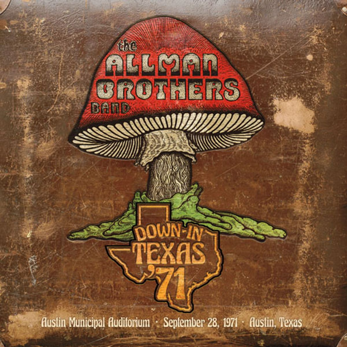 Allman Brothers Band to Release Down in Texas '71