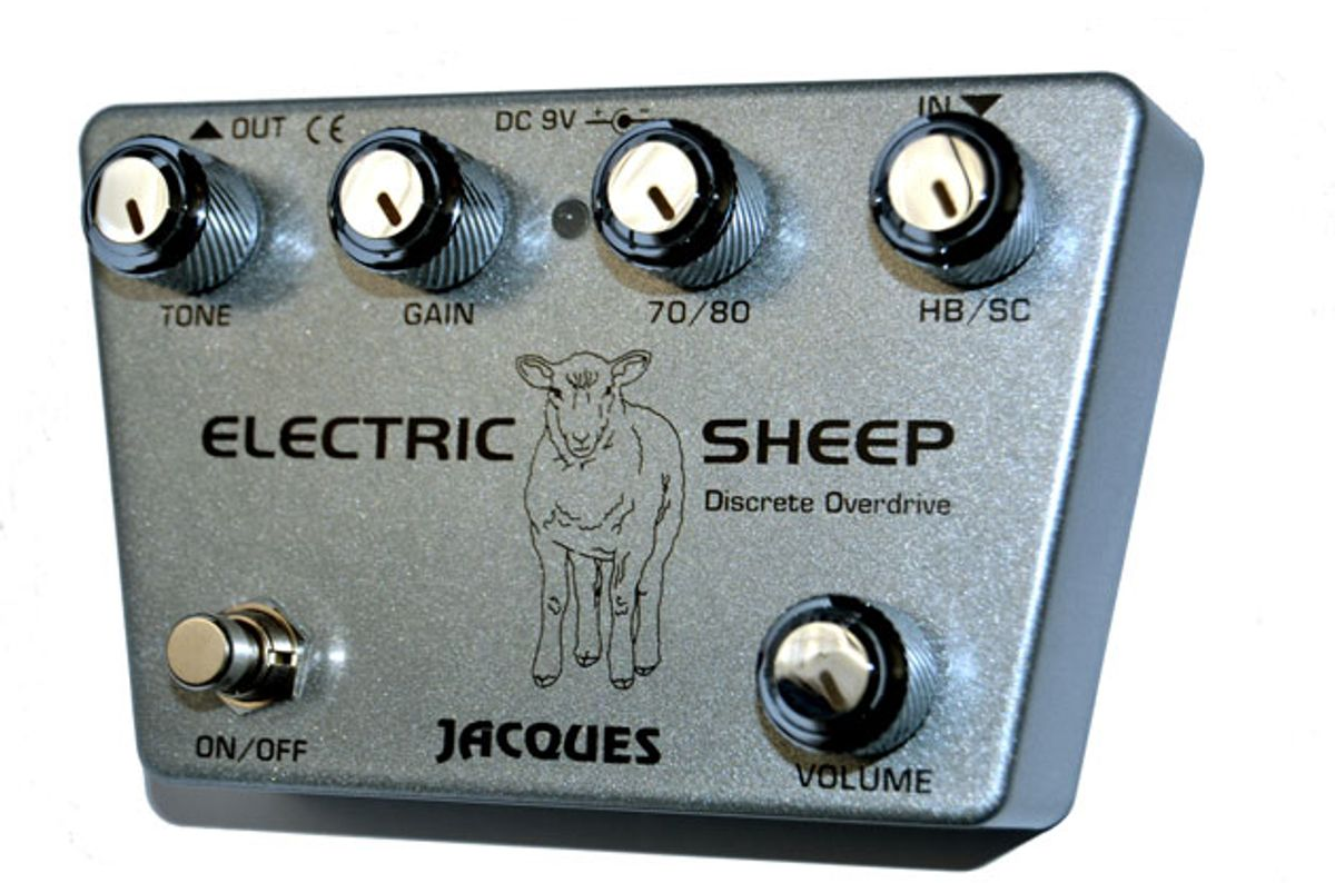 Jacques Pedals Introduces the Electric Sheep Overdrive