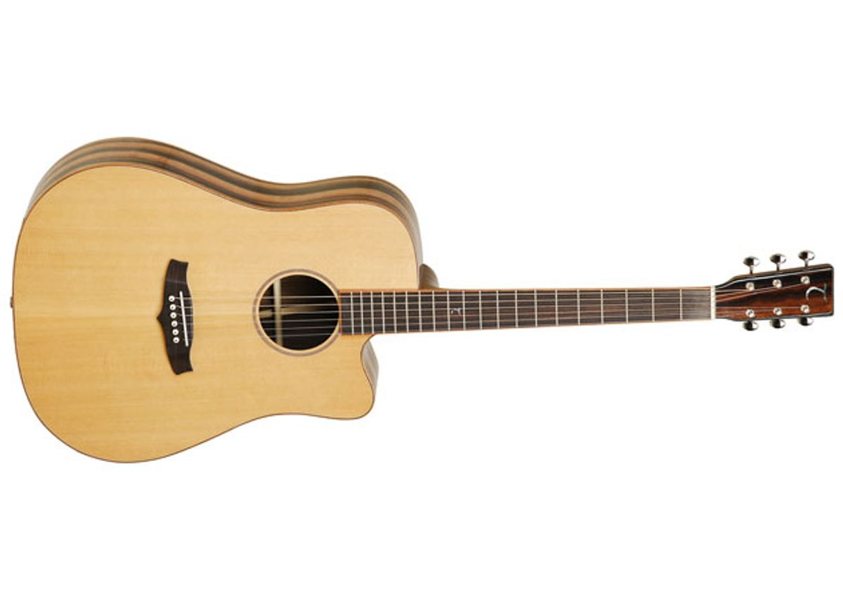Tanglewood Guitars Expands Java Series with TWJD and TWJD-CE