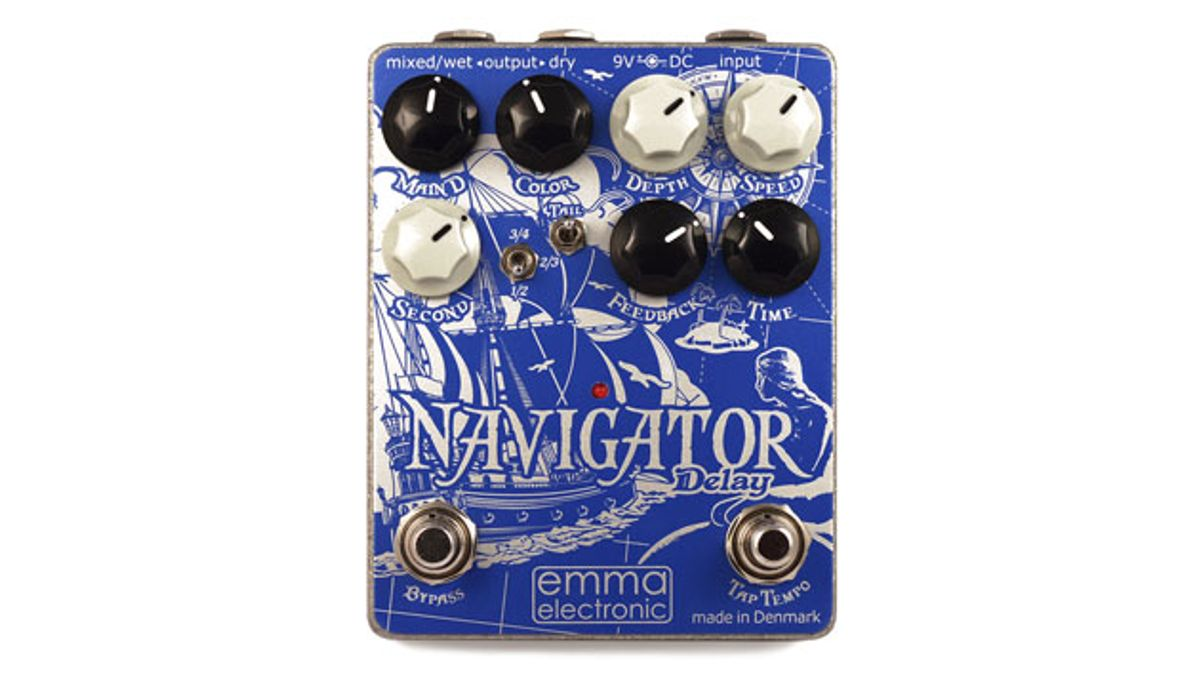 Emma Electronic Releases the ND-1 Navigator Hybrid Delay Pedal