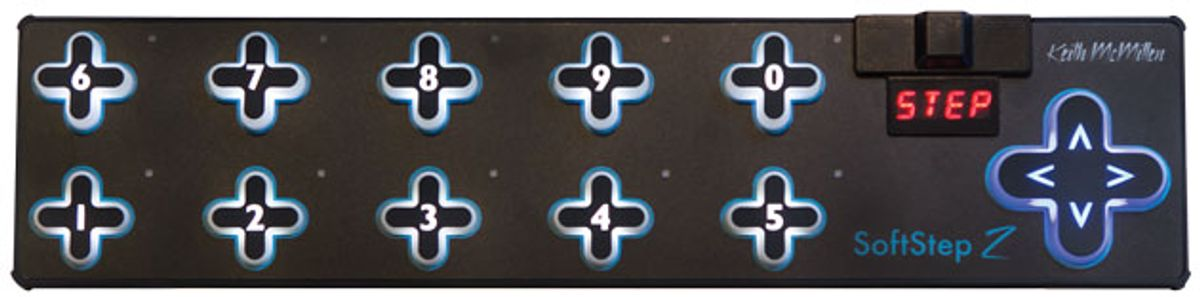 Quick Hit: Keith McMillen Instruments Soft Step 2 MIDI Foot Controller