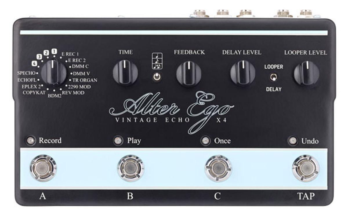 TC Electronic Announces the Alter Ego X4 Vintage Echo