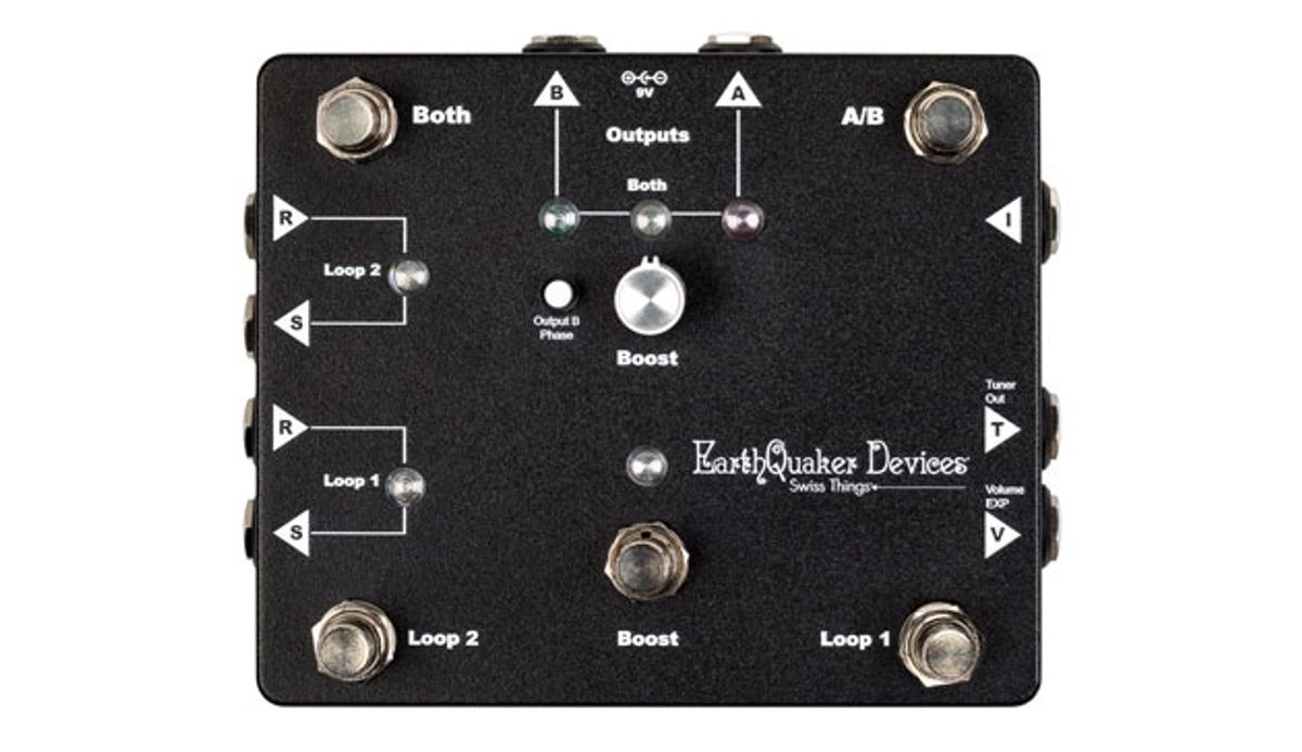 EarthQuaker Devices Releases the Swiss Things Pedalboard Reconciler