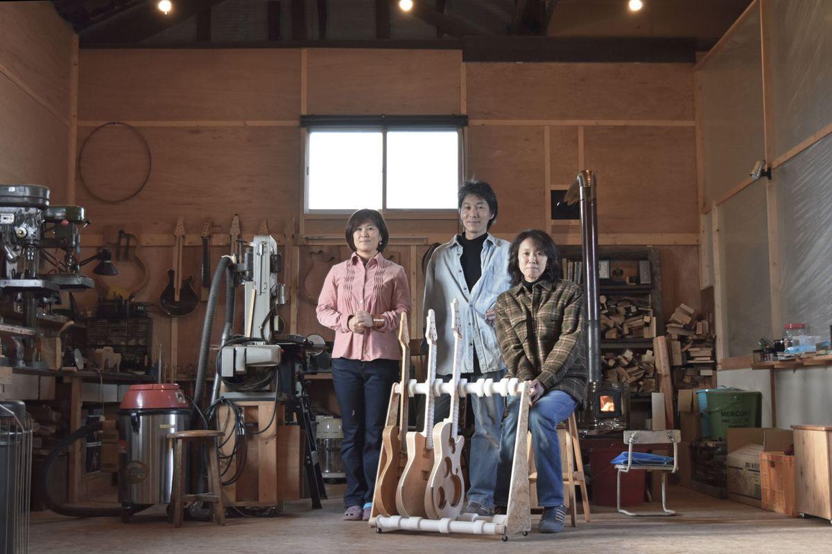 Breath of Something Big: Jersey Girl Homemade Guitars
