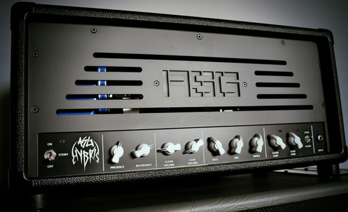 """ASG Amps Launches """"Hybris"""" All-Tube Amplifier at Winter NAMM"""