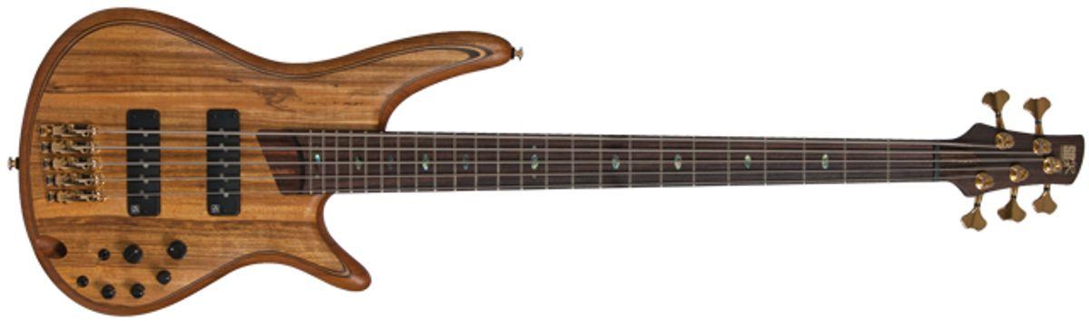 Ibanez SR Premium 1400E and 1205E Bass Reviews