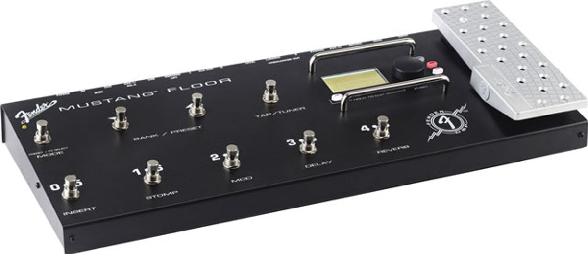 Fender Introduces The Mustang Floor Multi-Effect Unit