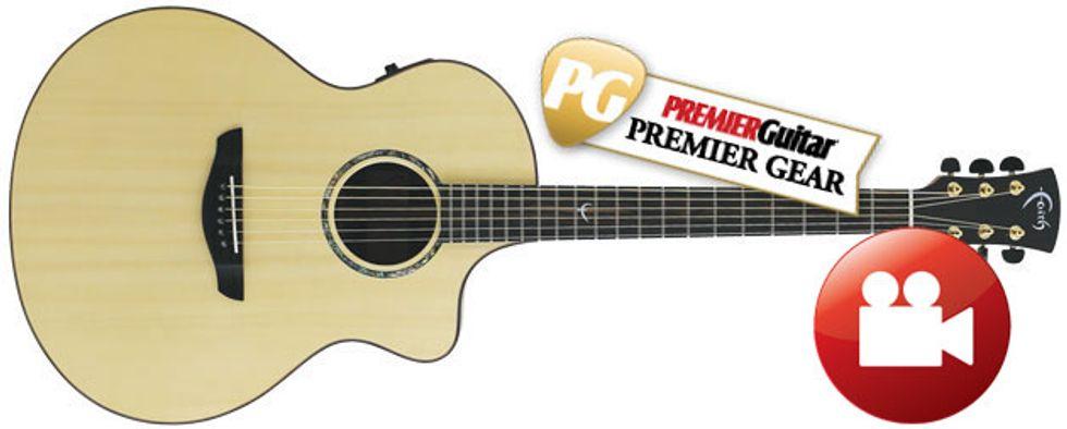 Faith Fncetb Neptune Baby Jumbo Cutaway Electro Review Premier Guitar