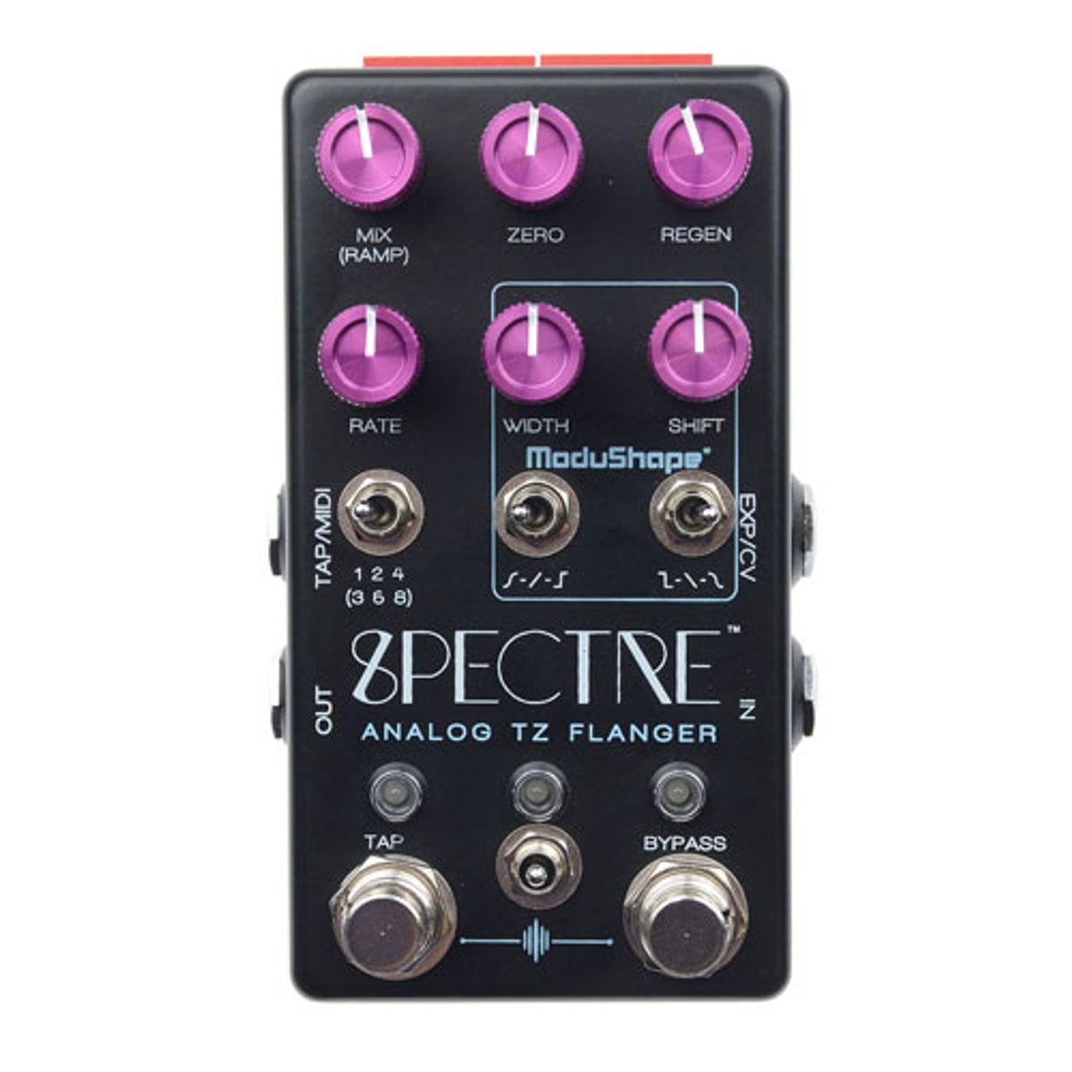 Chase Bliss Audio Introduces the Spectre Analog Through-Zero Flanger