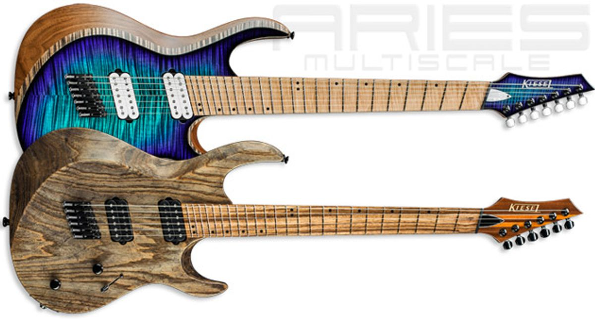 Kiesel Guitars Unveils the Aries AM6 and Aries AM7