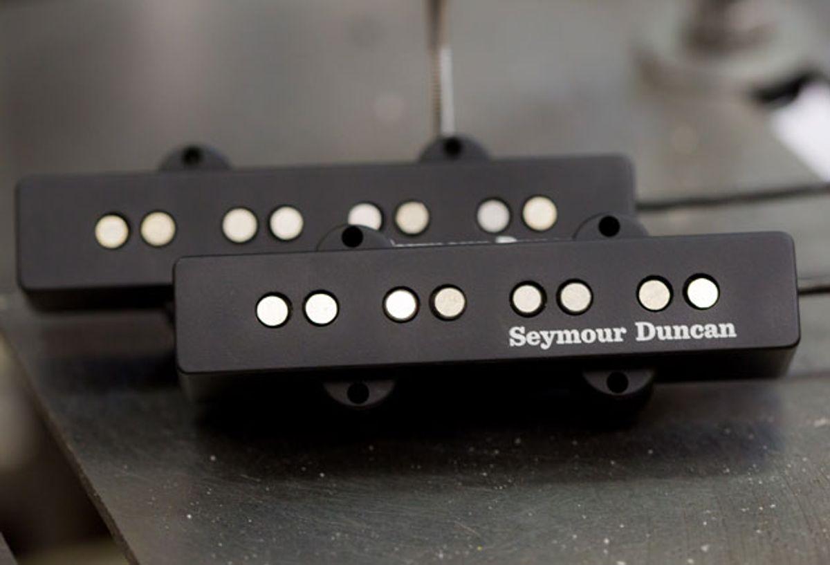 Seymour Duncan Announces the Apollo Jazz Bass Linear Humbucker