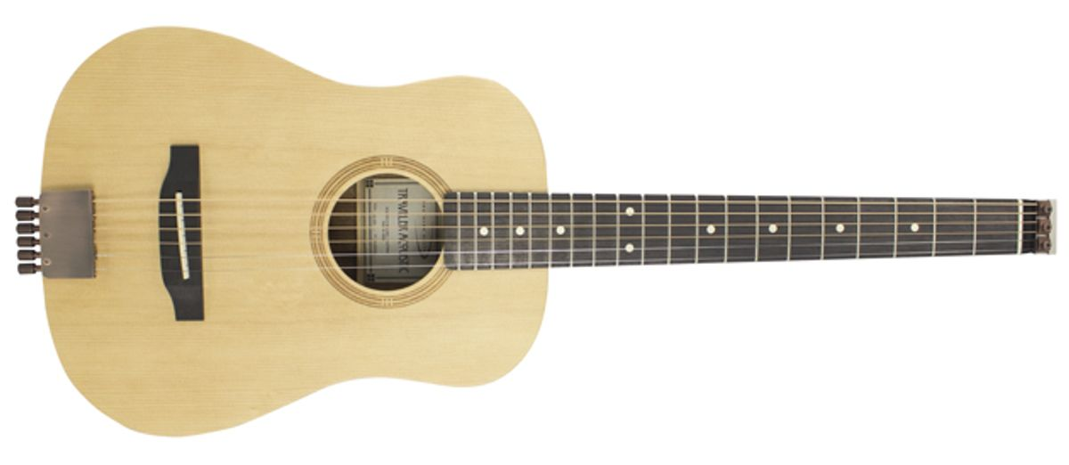 Traveler Guitar Introduces the Acoustic AG-105EQ