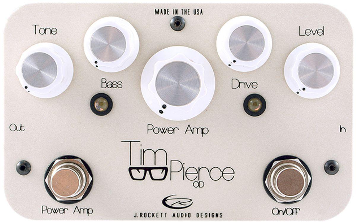J. Rockett Audio Designs Unveils Tim Pierce Signature Overdrive