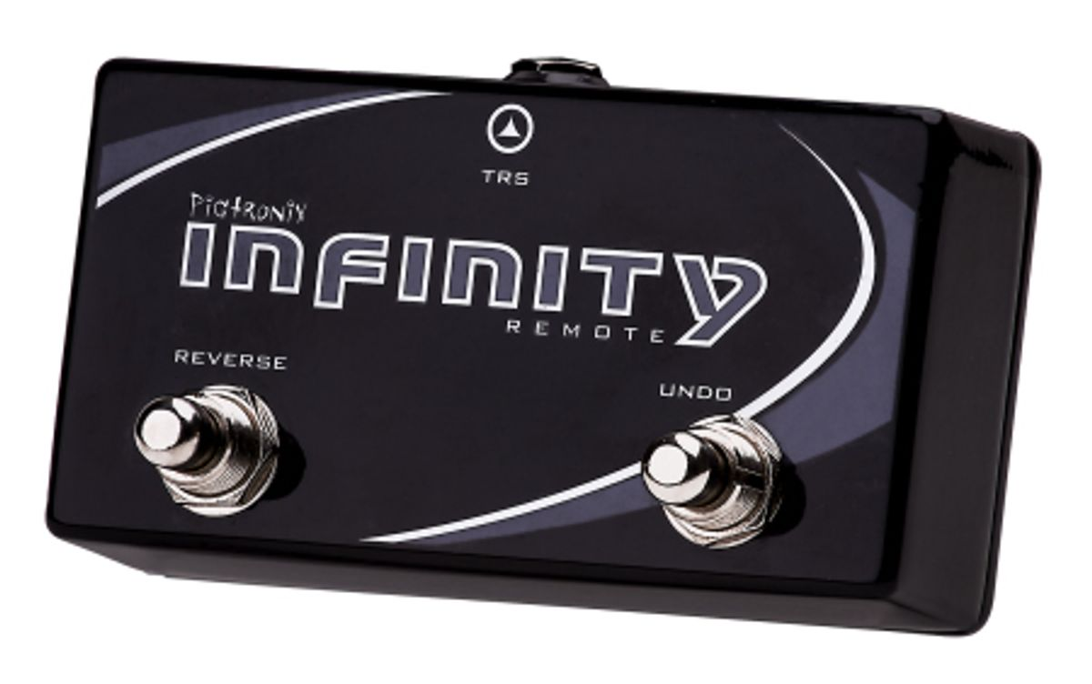 Pigtronix Updates Infinity Looper Firmware and Releases the Infinity Remote Switch