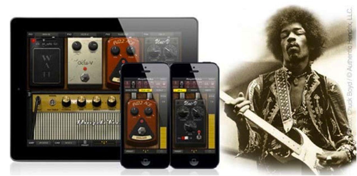 IK Multimedia's AmpliTube Jimi Hendrix Now Available on the App Store