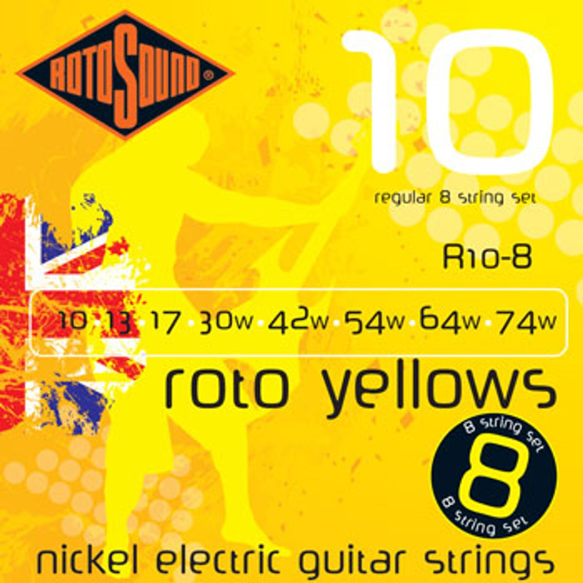 Rotosound Announce New 8-String Set