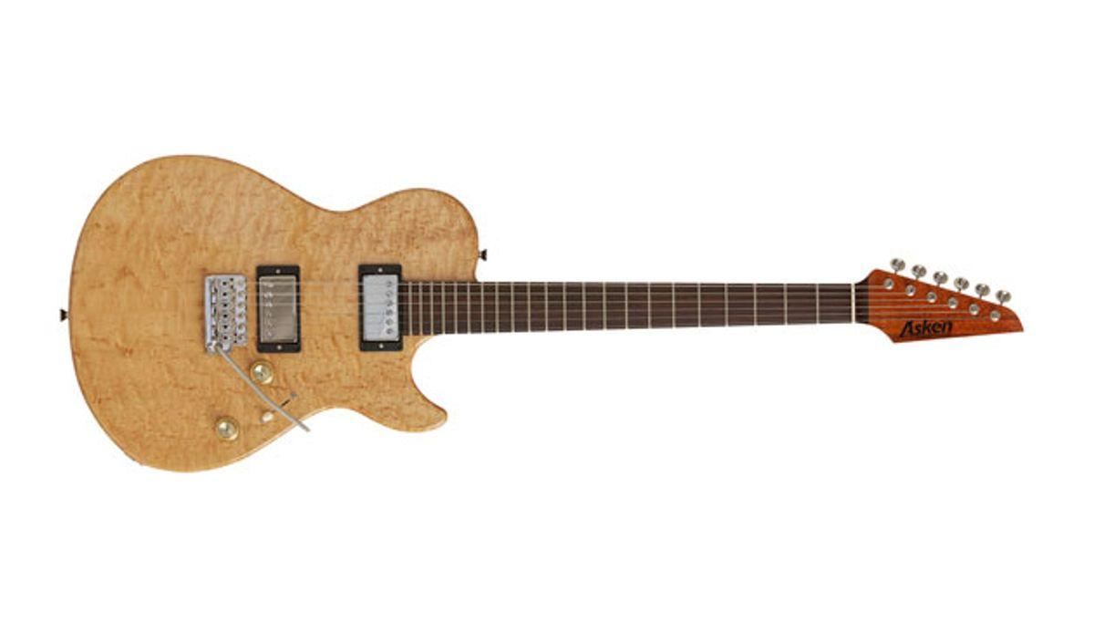 Asken Guitars Unveils the Intercooler H2T DT Series