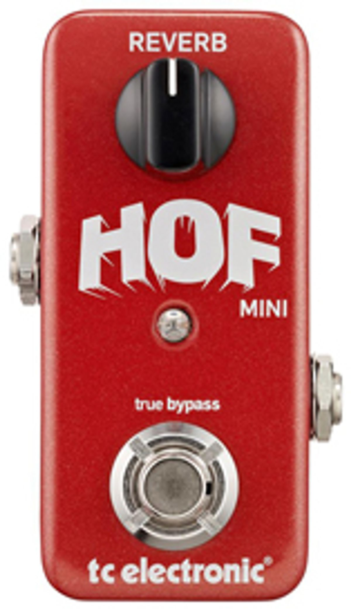 TC Electronic Introduces the HOF Mini Reverb Pedal