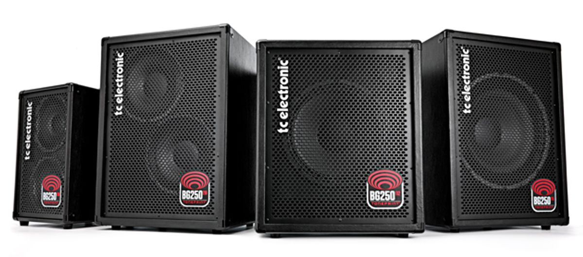 TC Electronic Releases BG250 Bass Combos