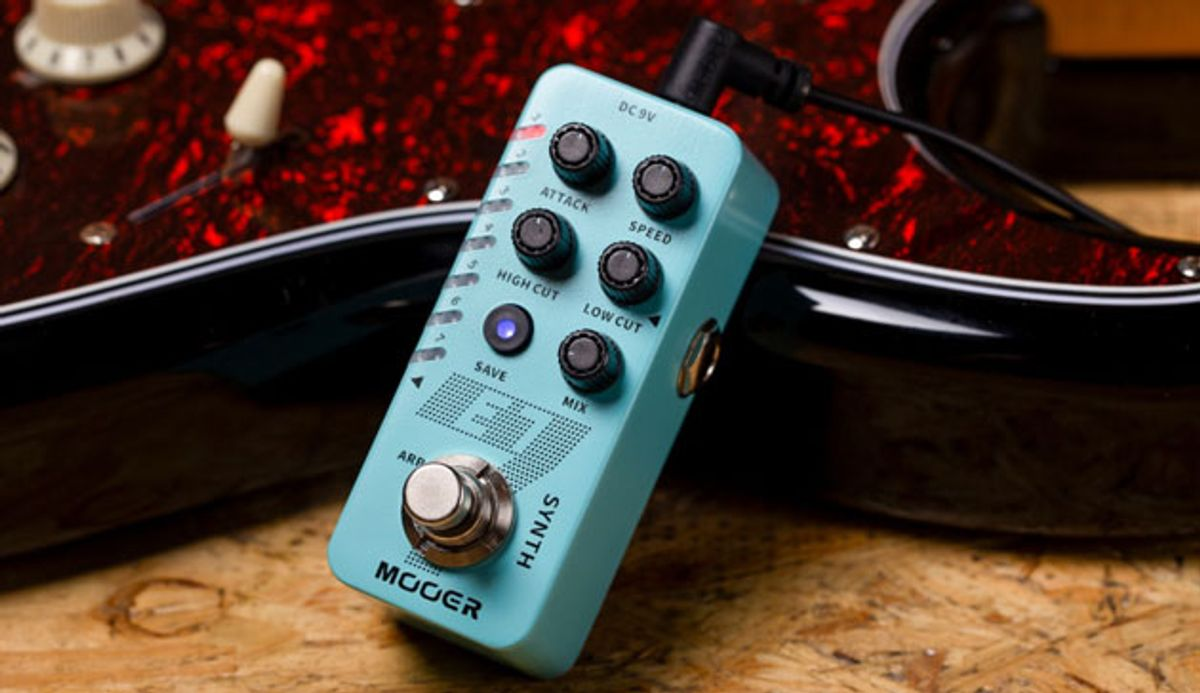 Mooer Audio Releases the Micro Series E7 Synth Pedal