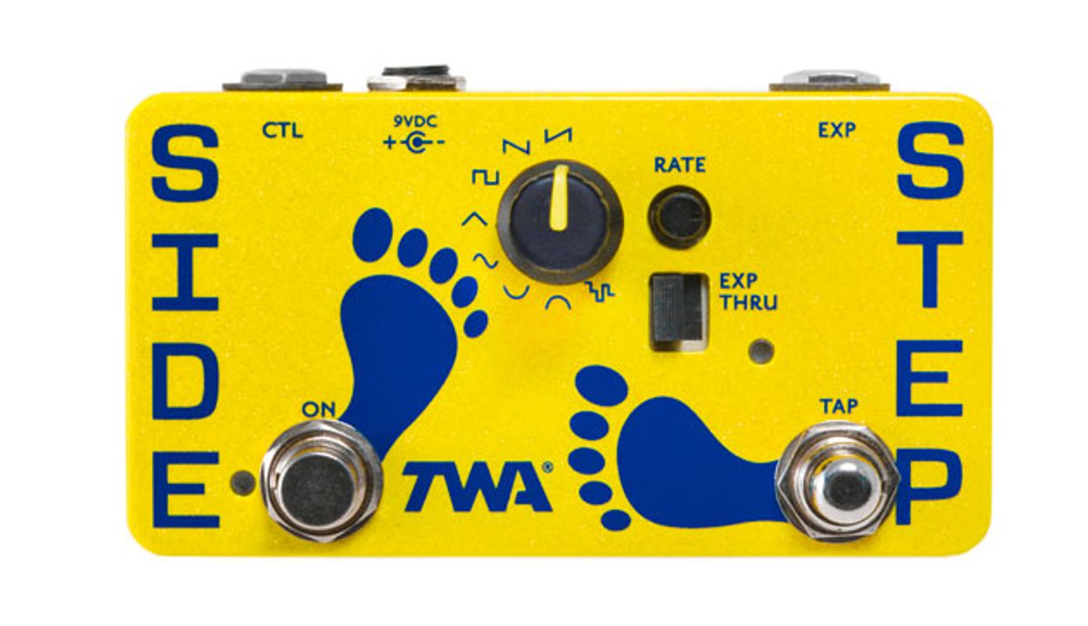 TWA Announces the SS-01 Side Step Universal Tap-Tempo LFO