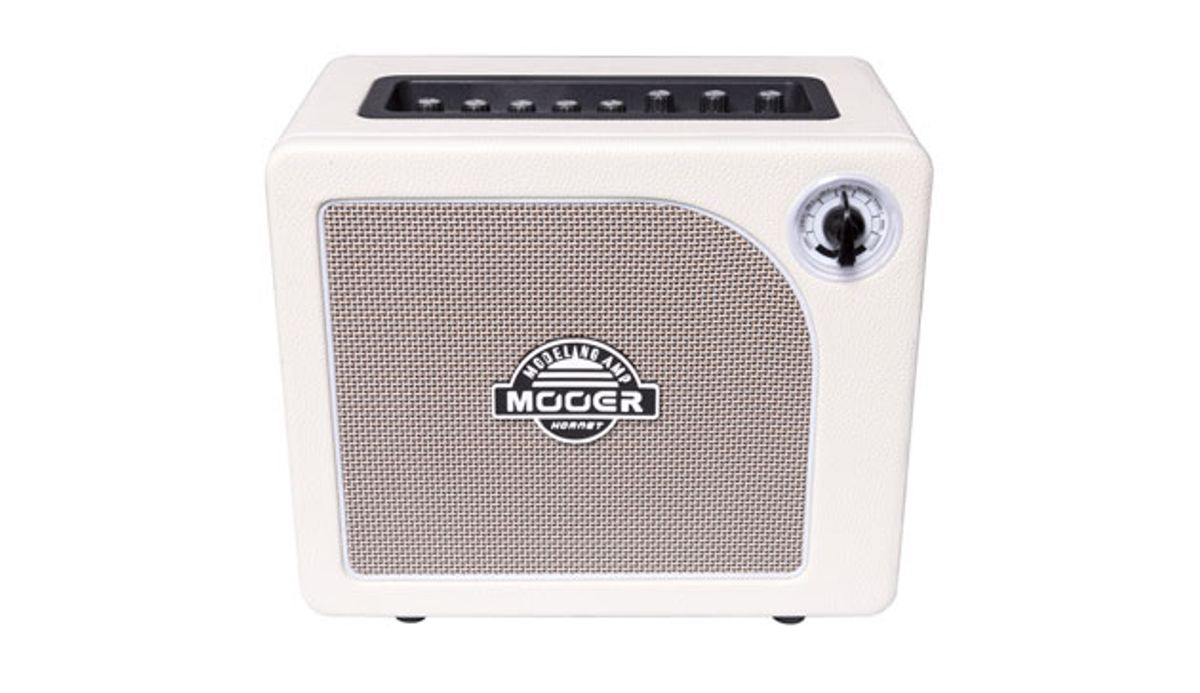 Mooer Audio Introduces the Hornet White Combo Amplifier