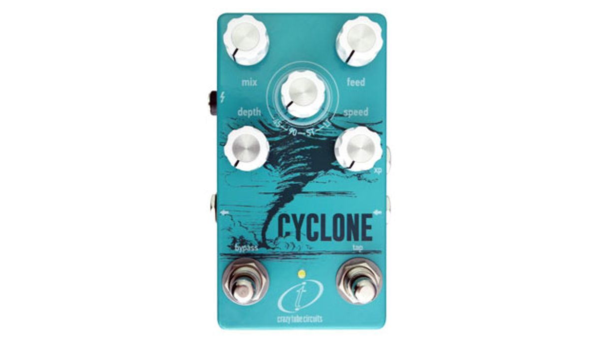 Crazy Tube Circuits Introduces the Cyclone Phaser