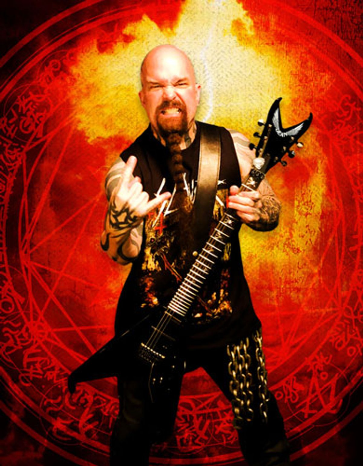 Dean Guitars Adds Kerry King to Artist Roster