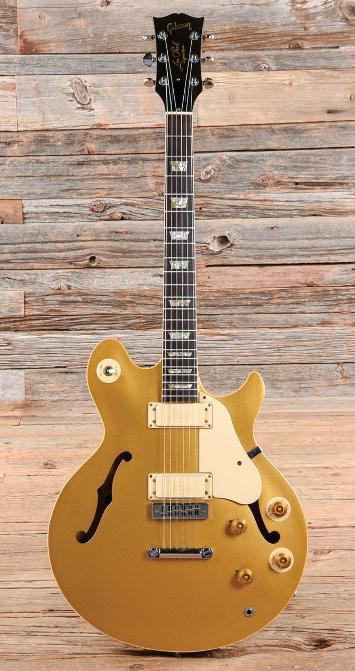 Vintage Vault: Reassessing a Rare Semi-Hollow '73 Les Paul Signature Model