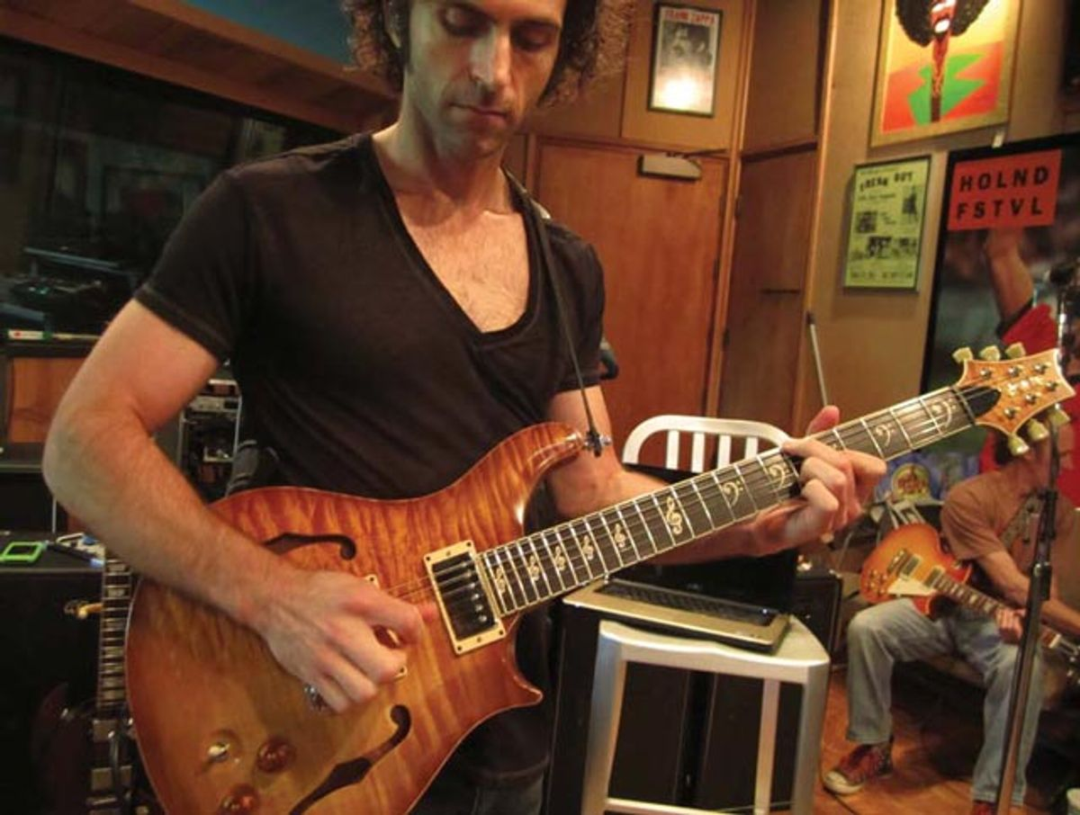 Gorgeous Freak of Nature: Building Dweezil Zappa's Custom PRS