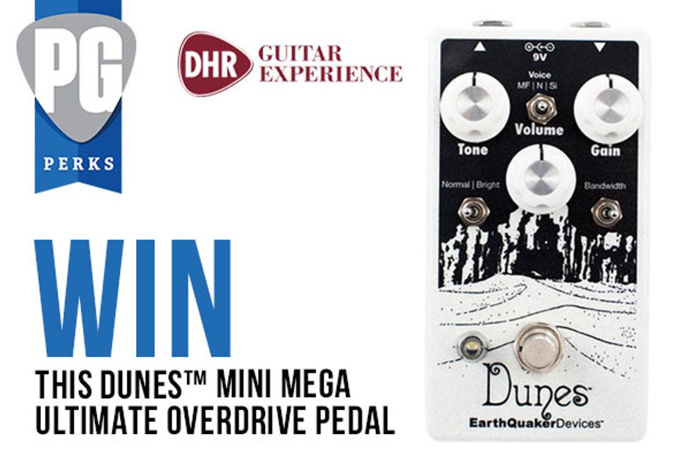 PG Perks: EarthQuaker Devices Dunes from DHR Guitar Experience
