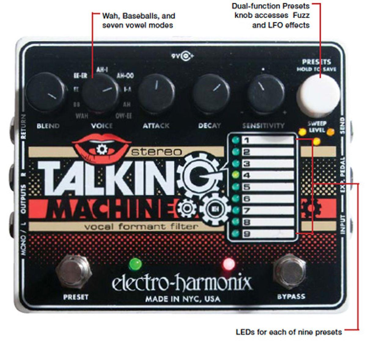 Electro-Harmonix Stereo Talking Machine Pedal Review