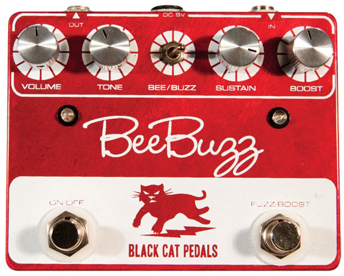 Black Cat Bee Buzz Pedal Review