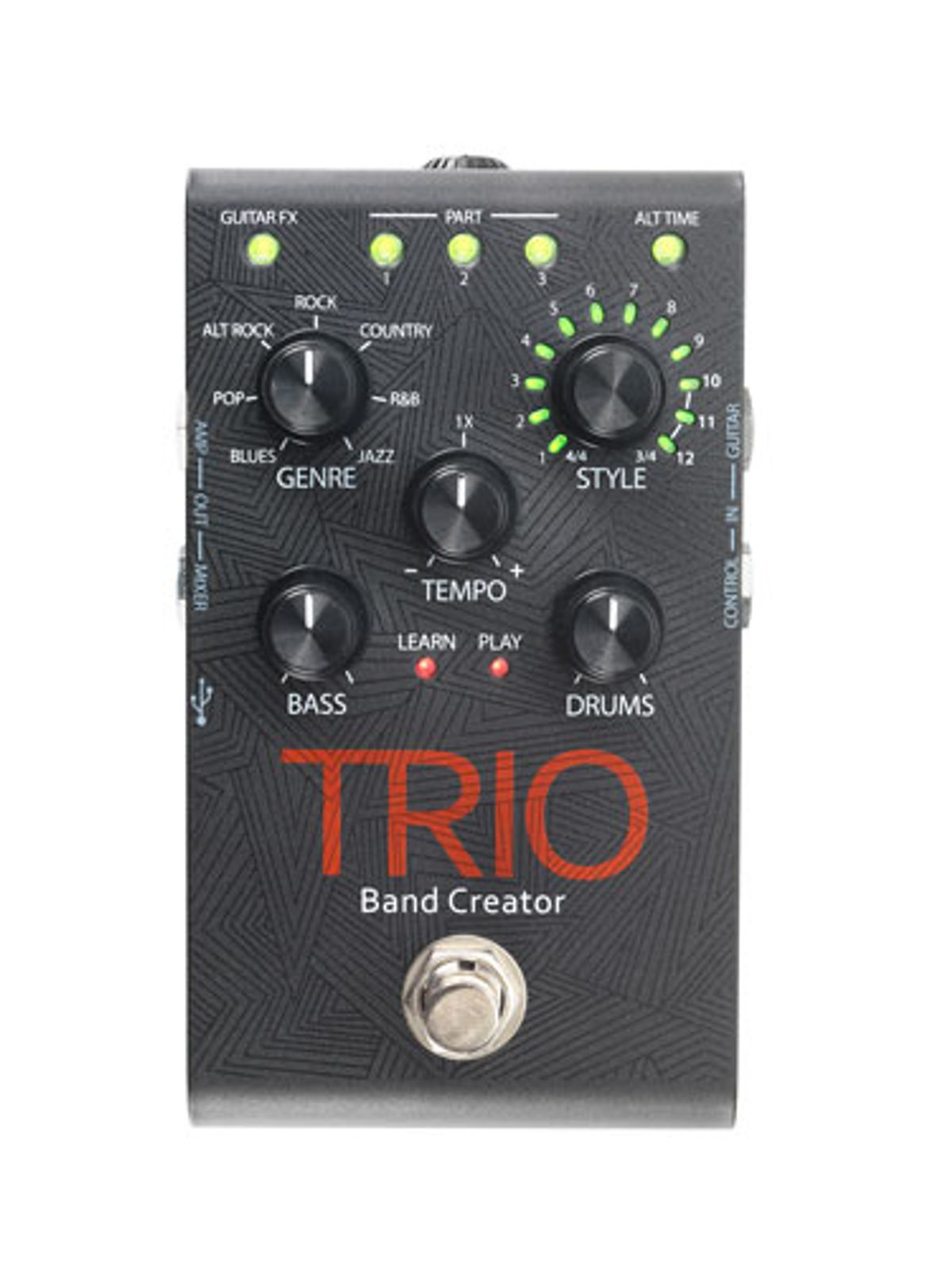 Digitech Releases the Trio Band Creator Pedal