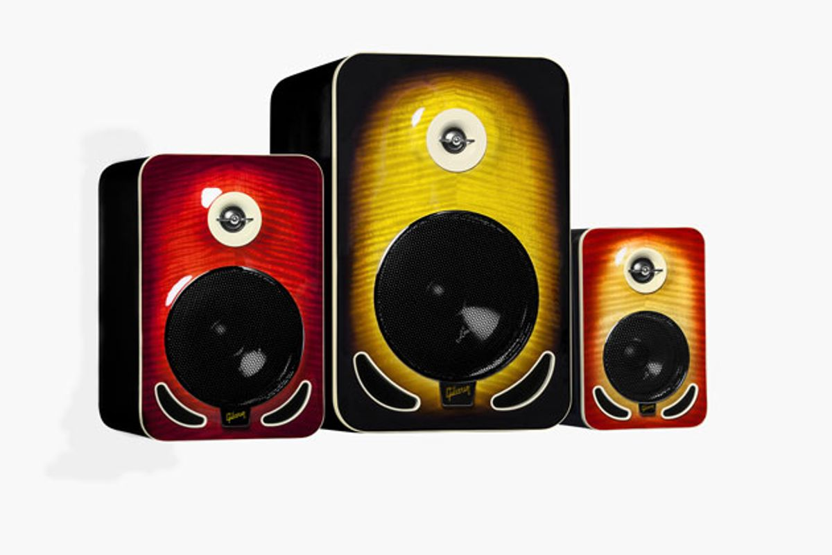 Gibson Unveils Les Paul Reference Monitors
