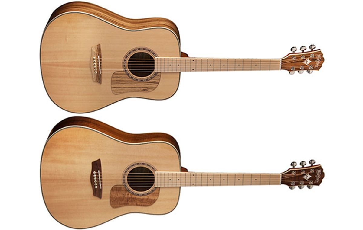 Washburn Announces the Woodcraft Series of Acoustic Guitars