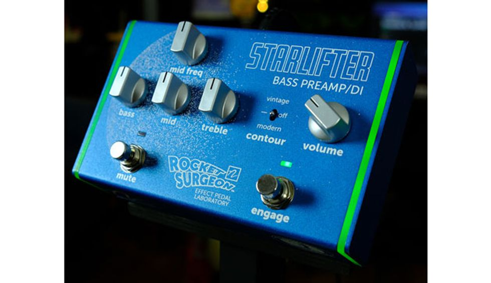 Rocket Surgeon Introduces the Starlifter Bass Preamp/DI