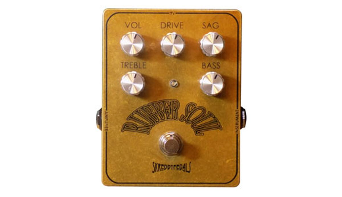 Skreddy Pedals Releases the Rubber Soul