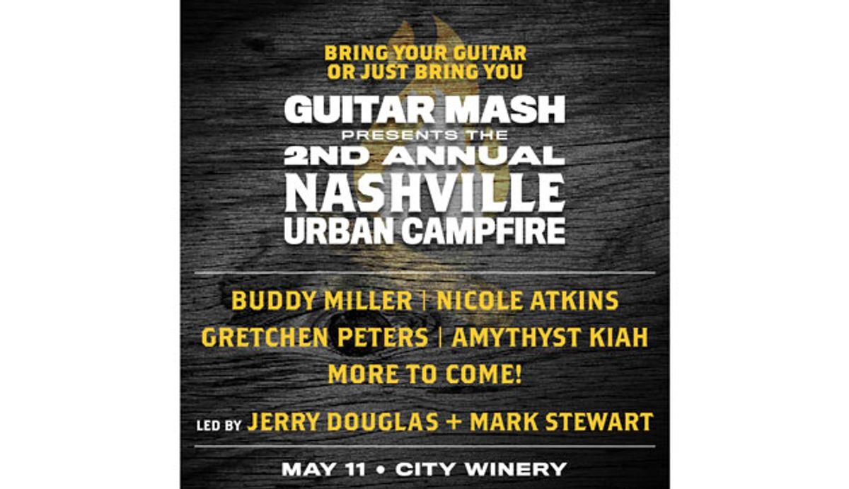 Guitar Mash Hits Nashville's City Winery on May 11