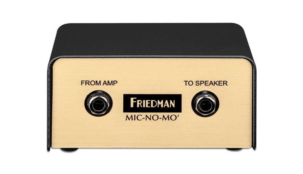 Friedman Amplification Unveils the Mic-No-Mo DI Box