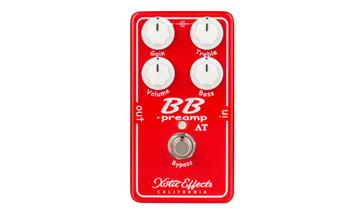 Xotic Releases the Andy Timmons BB Preamp