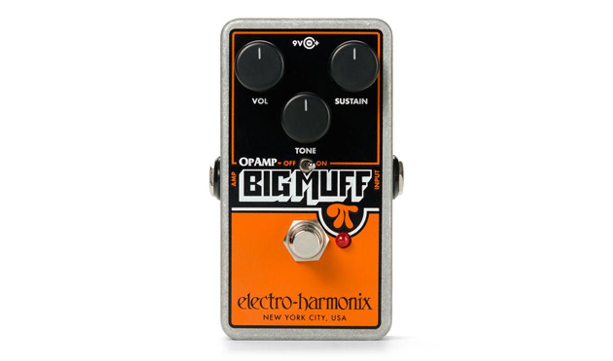 Electro-Harmonix Reissues the Op-Amp Big Muff Pi