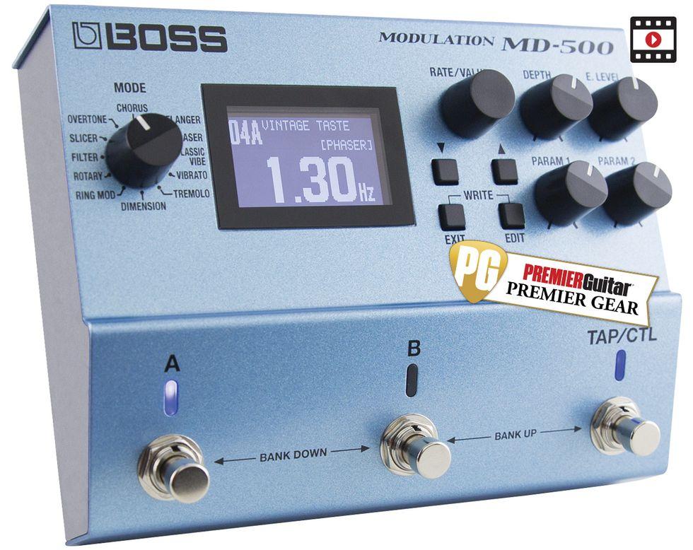 Boss MD-500 Review   Premier Guitar