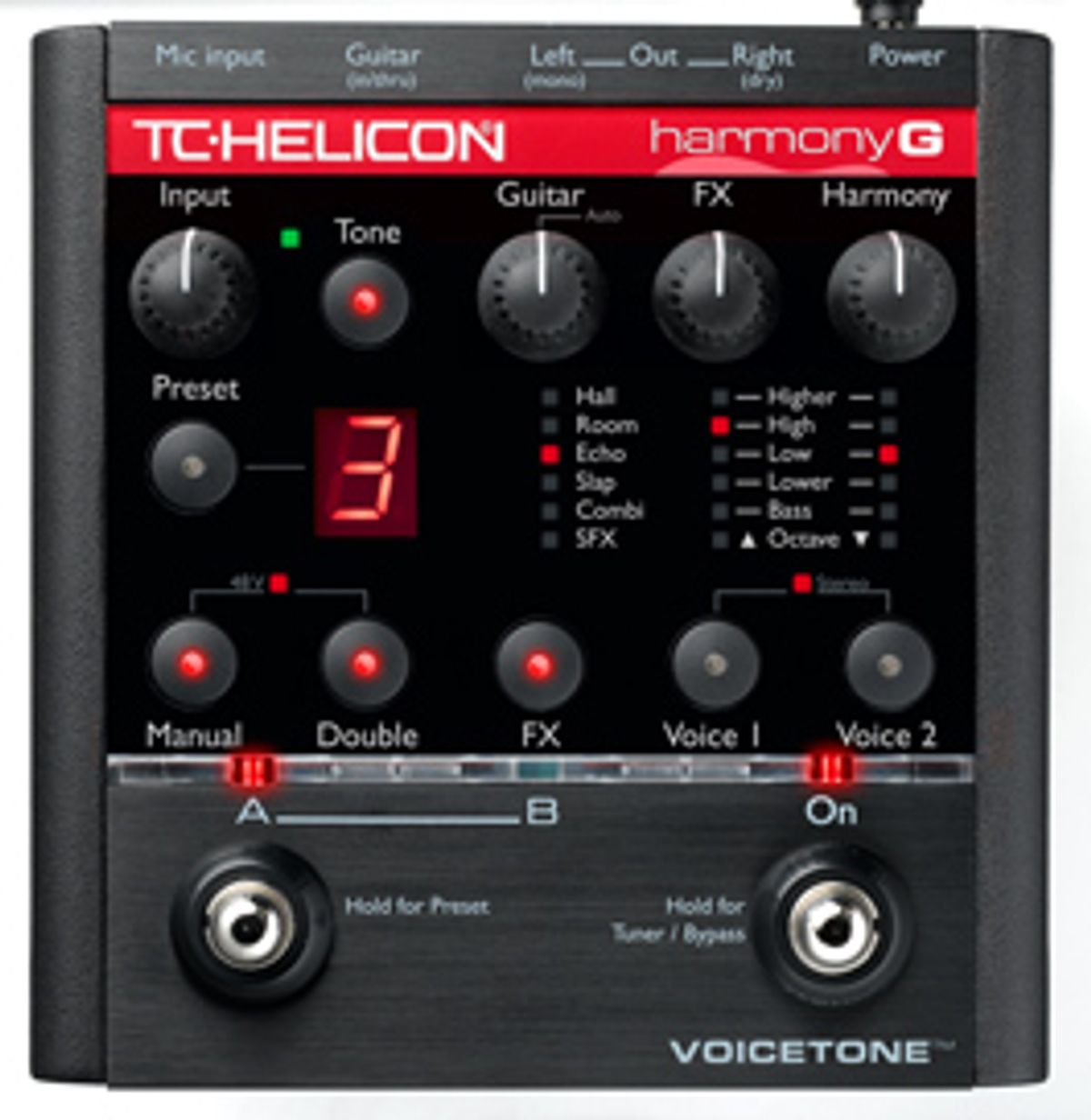 For Singing Guitarists: TC Helicon's Harmony G