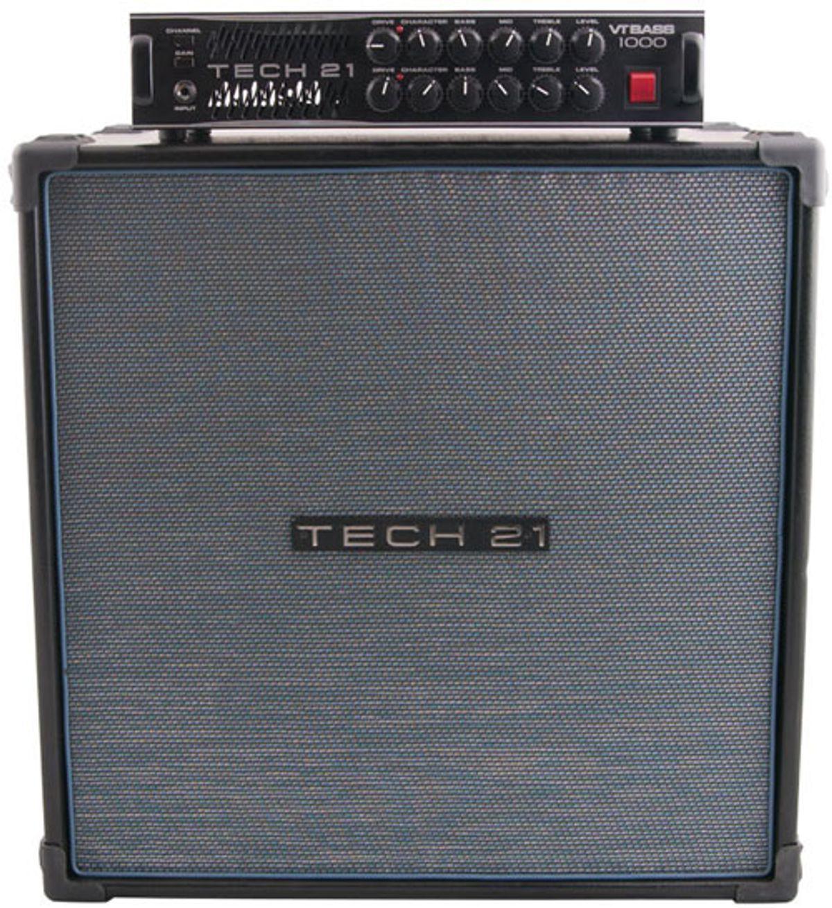 Tech 21 VT Bass 1000 & B410-VT Bass Rig Review