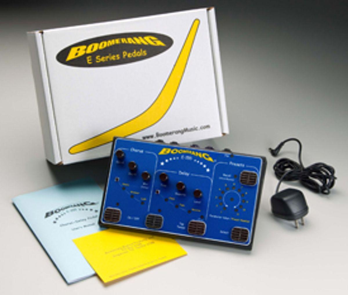 Review: Boomerang E-155 Chorus-Delay Pedal
