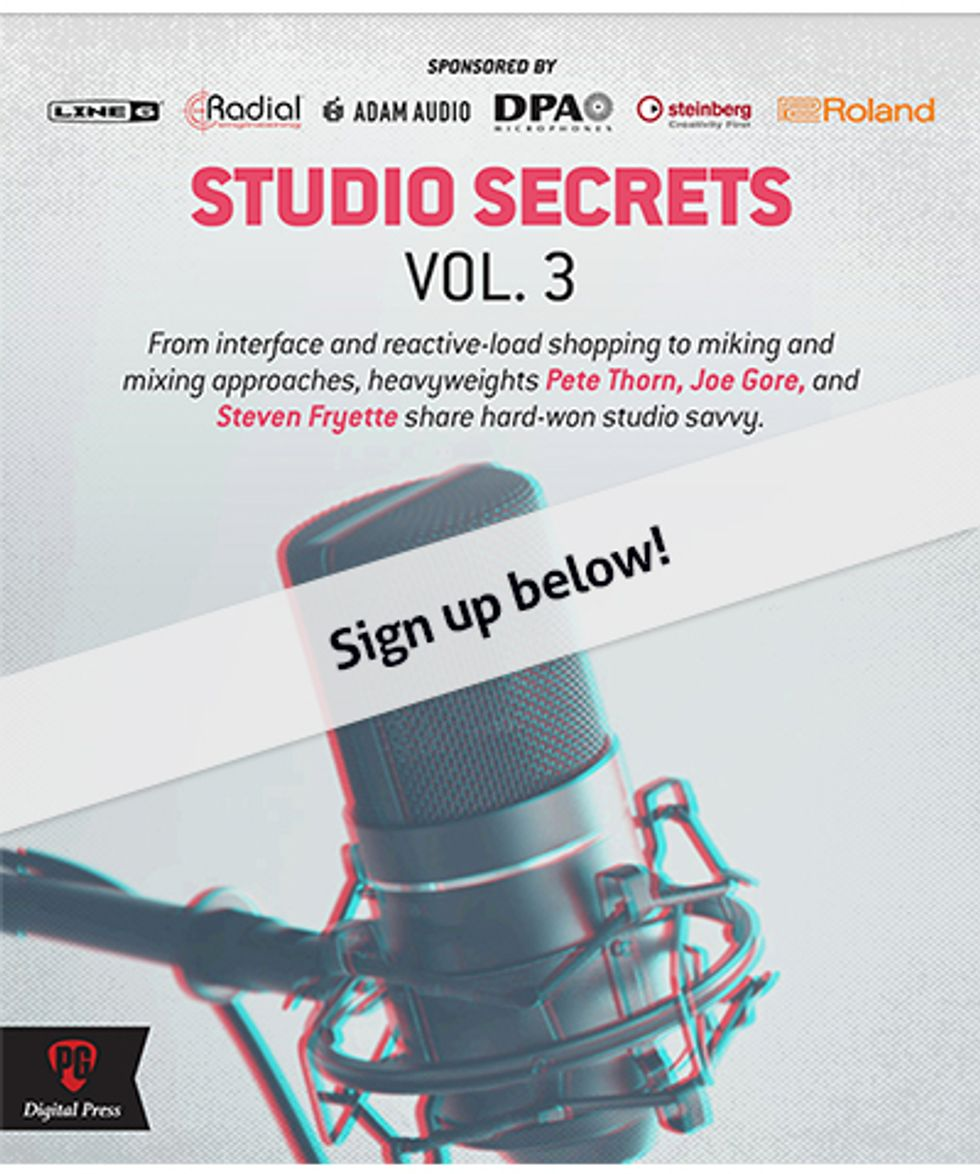 Studio Secrets Vol 3