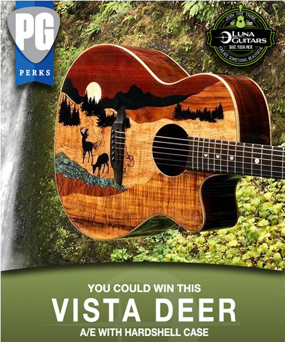 Luna Guitars Vista Deer